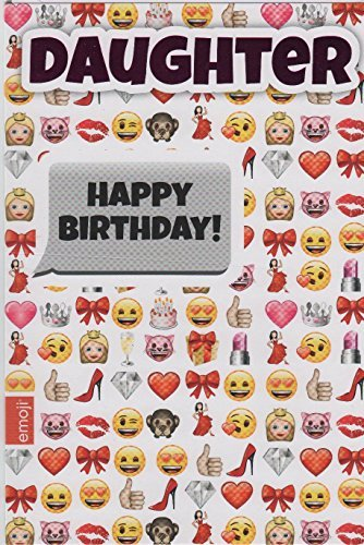 Buy Emoji Daughter Birthday Card Online At Low Prices In India