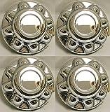 8 trailer hubcaps - Set of 4 - PHOENIX QT765CHN-x4, 16