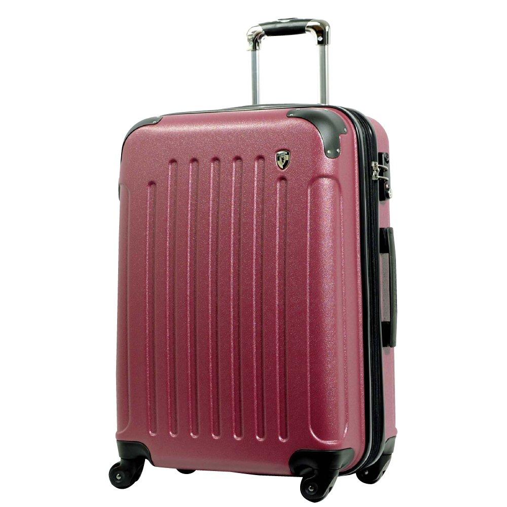 [グリフィンランド]_Griffinland TSAロック搭載 スーツケース 超軽量 マット加工 newFK10371 ファスナー開閉式 B075TY8HPM SS型|アズキ アズキ SS型