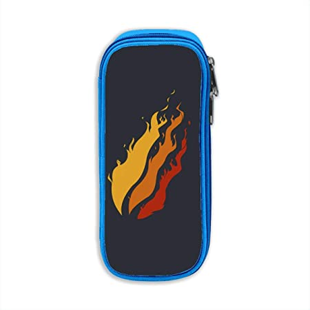 Porta lápices, Estuche para lápices, Preston Fire Nation Playz Gamer Flame Stationery Box Pencil Bag Makeup Bag: Amazon.es: Oficina y papelería