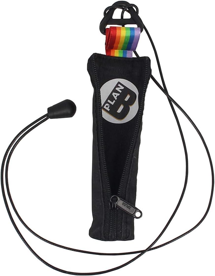 Plan B Funda Protectora vapeador Myblu Pride - 12,5 X 3,3 cm cordón de 100 cm Negro y Arcoíris Hecha a Mano en España: Amazon.es: Equipaje
