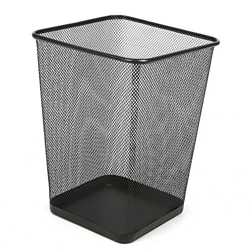Aojia Rectangular Waste Bin,steel Mesh,8.7