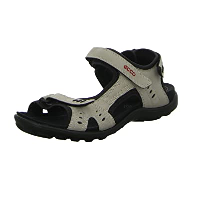 77aaa337183b71 ECCO Women s 027743 All Terrain Outdoor Sandals White Size  4 UK ...