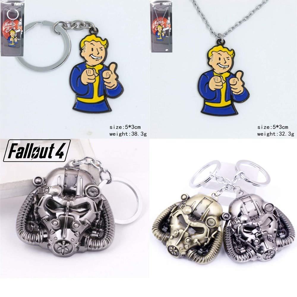 Fallout 4 Juego periféricos Vault Boy máscara de radiación ...