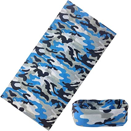 Amazon.com   Zeroyoyo Sports Camo Tube Scarf Bandana Headwear Face Mask for  Riding 8004e8a46b2