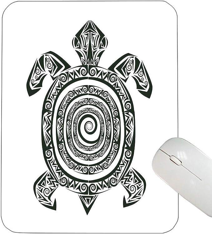 Tortuga Personalizada Alfombrilla de ratón Estilo de Tatuaje maorí ...