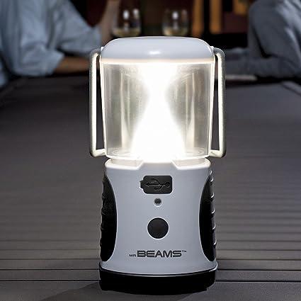 Mr Beams ultra helle LED Laterne mit USB Ladeger/ät gr/ün MB470
