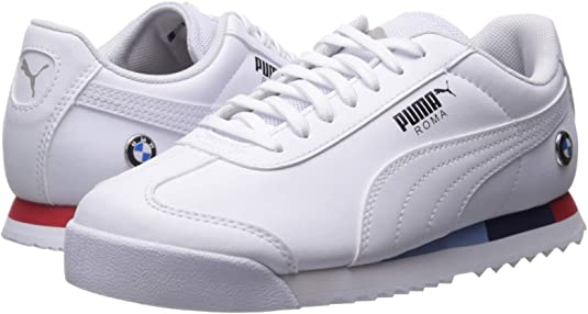 PUMA Boys BMW Motorsport Roma Junior Casual Sneakers,