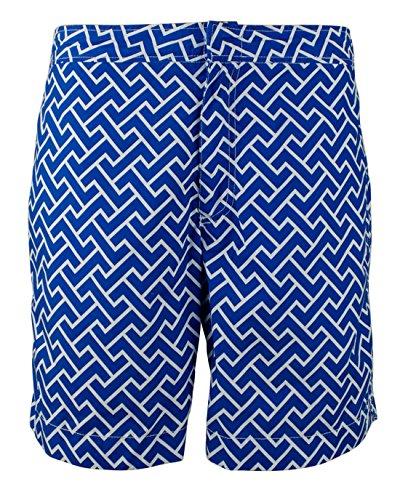 Polo Ralph Lauren Men's Geometrical Swim (Lauren Flap Pocket Jeans)