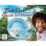 Set: Freude am Malen: Neue Landschaften in Öl. Mit Malkurs auf DVD mit O-Ton Bob Ross, deutsch untertitelt