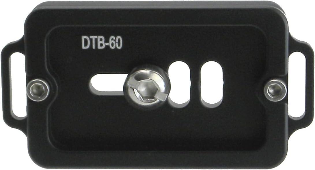 Desmond DTB-60 60mm QR Lens Plate w Twin Strap Bosses Arca Swiss Compatible