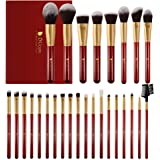 DUcare Makeup Brushes 27Pcs Professional Makeup Brush Set Premium Synthetic Goat Pony Hair Kabuki Foundation Blending…