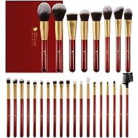 DUcare Pennelli Make Up 27 pezzi Set di pennelli per trucco Fondotinta Cipria Crème Liquido Professionali Pennelli per volto ombretti e sopracciglio