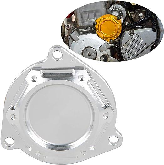 CNC Starter Idle Gear Cover Crankcase Guard For Suzuki DRZ400E DRZ400S DRZ400SM