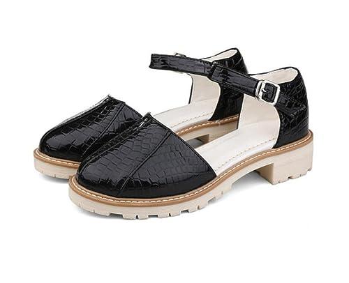 Weiqi Mujerveranohebillacabeza Zapatos Weiqi Zapatos Redondacomodidad Weiqi Redondacomodidad Zapatos Mujerveranohebillacabeza De Mujerveranohebillacabeza Redondacomodidad De De ppwx4dq7Fr