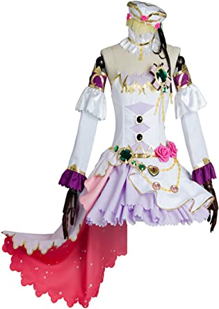 Love Live Ayase Eli Dress Bouquet Flowers Awakening Cosplay Costume Party Dress