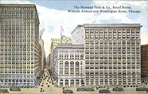 The Marshall Field & Co., Retail Stores, Wabash Avenue and Washington Street Original Vintage - The Avenues Stores
