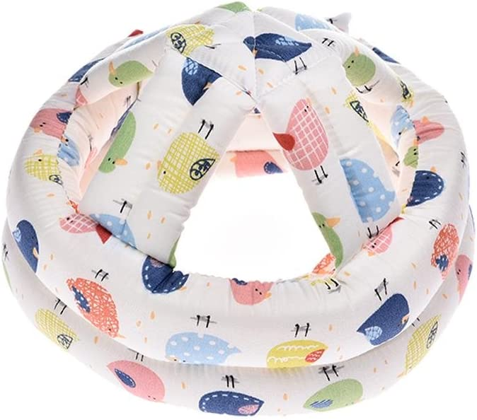 Baby Safety Helmet Infant Head Protector Breathable Headguard Adjustable Protective Cap for Toddlers Walking Crawling