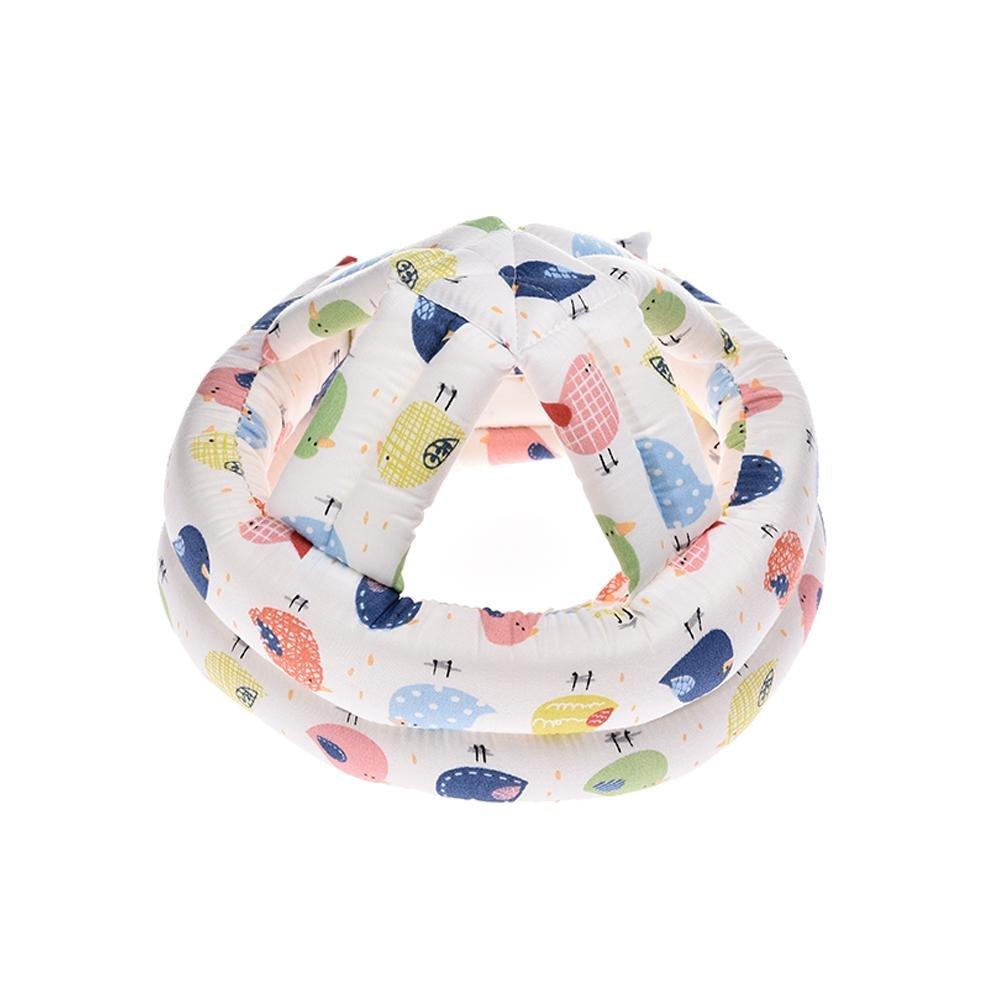 Baby Schutzhelm Kopfschutz-Kissen Mit Verstellbaren Riemen Kopfschutzm/ütze Kinder Helme Anti Kollision F/ür Kleinkinder Von 8 Monaten