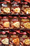 Betty Crocker Instant Mashed Potatoes - Variety Pack of 9