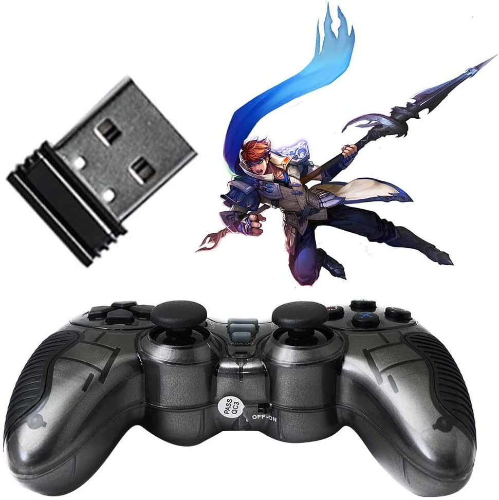 OSCAR BATES Gamepad Wireless Controller Game Pad Joystick Gamepad Dual Vibration Double Controllers Turbo Clear and Auto Function