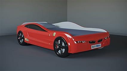 Amazon Com Supermaxx Kids Car Bed Racing Sport Bmw Style Bedroom