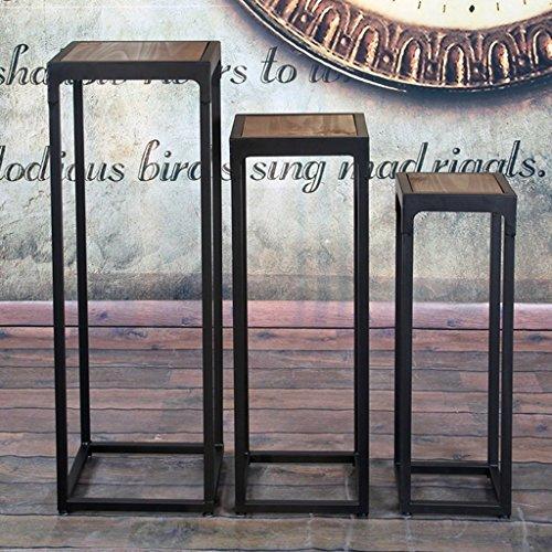 Csq Stand De Fleur De Fer Etagere Pin Noir Interieur Palette Salon