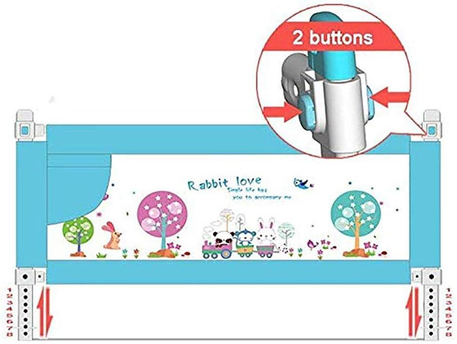 YZY Barrera Cama Abatible for niños pequeños, barandilla de Seguridad de elevación con Malla ventilada for niños pequeños - Queen Size Bed Guard for niños - Sueño Seguro: Amazon.es: Hogar