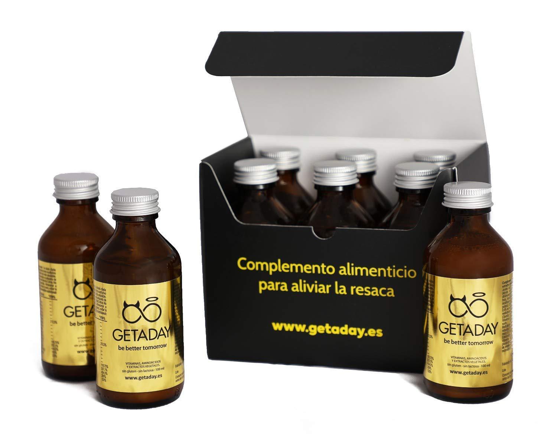GETADAY | Previene y combate la resaca | Pack 6x100 ml