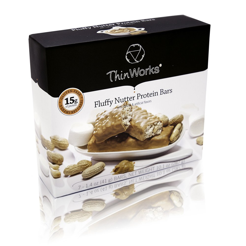 ThinWorks Fluffy Nutter Low Carb Protein Bars by ThinWorks
