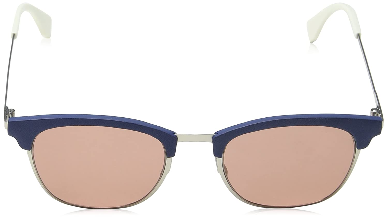 a6fd0e174e11 Fendi QBIC FF 0228 S SILVER DARK BLUE GREY PINK men Sunglasses  Fendi   Amazon.ca  Clothing   Accessories