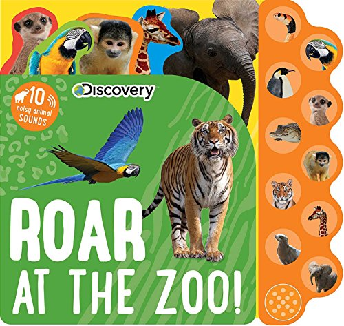 Discovery: Roar at the Zoo! (10-Button Sound Books) by Silver Dolphin Books