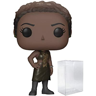 Marvel: Black Panther - Nakia Funko Pop! Vinyl Figure (Includes Compatible Pop Box Protector Case): Toys & Games