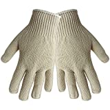 Global Glove S400 Economy Weight String Knit Glove, Work, Mens, Gray (12 Pack)