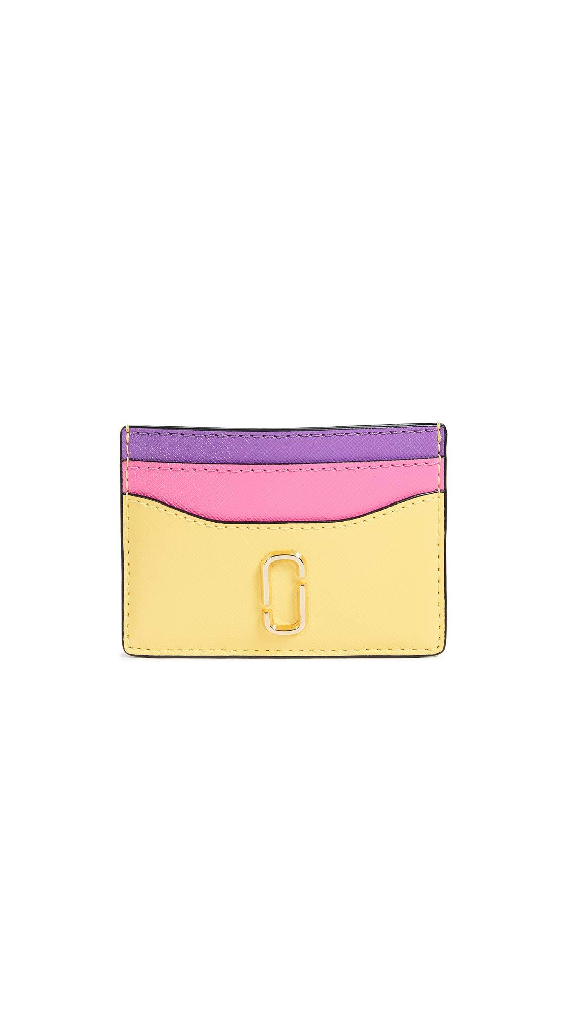 Marc Jacobs Women's Snapshot Card Case, Lemon Multi, One Size
