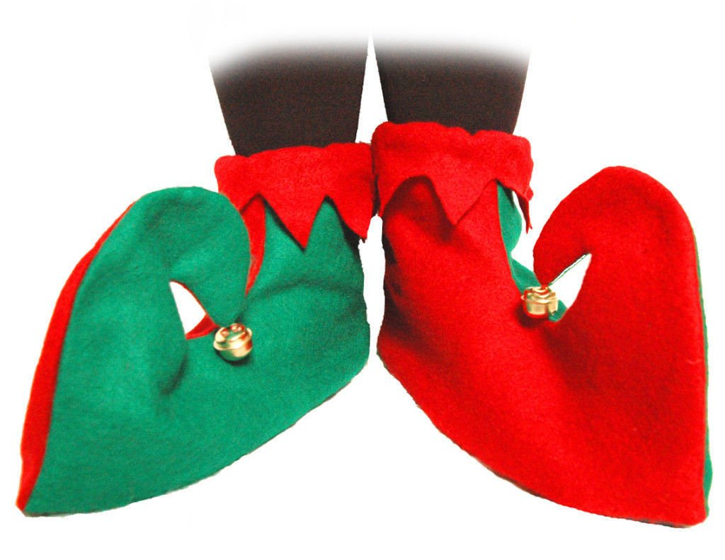 sparta consumers inc Elf Shoes Adult Unisex Halloween Accessory rin