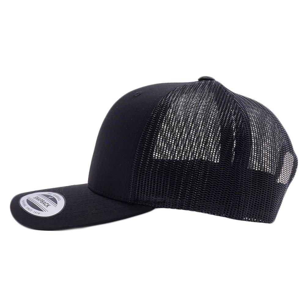 c7f45c51 Acornfit Yupoong Classic 6606, 6606T, 6606W, Retro Trucker Hats, Mesh Back Baseball  Caps(Black) at Amazon Men's Clothing store: