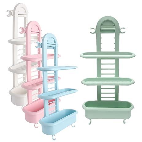 Amazon.com: Honana BS-415 Bathroom Shower Caddy Plastic Organizer ...