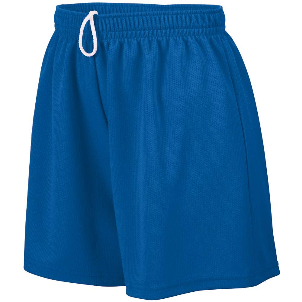 Augusta Sportswear Augusta Girls Wicking Mesh Short, Royal, Small by Augusta Sportswear