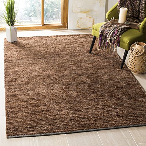 Organica Collection Runner (Safavieh Organica Collection ORG213A Hand-Knotted Brown Wool Area Rug (4' x 6'))