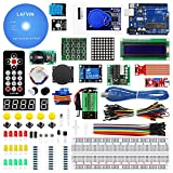LAFVIN UNO Project Super Starter Kit Included UNO R3,LCD1602 IIC with Tutorial for Arduino