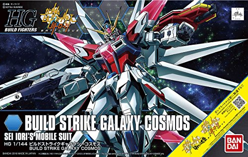 (Bandai Hobby HGBF 1/144 Galaxy Cosmos Gundam Build Fighters Figure Model Kit)