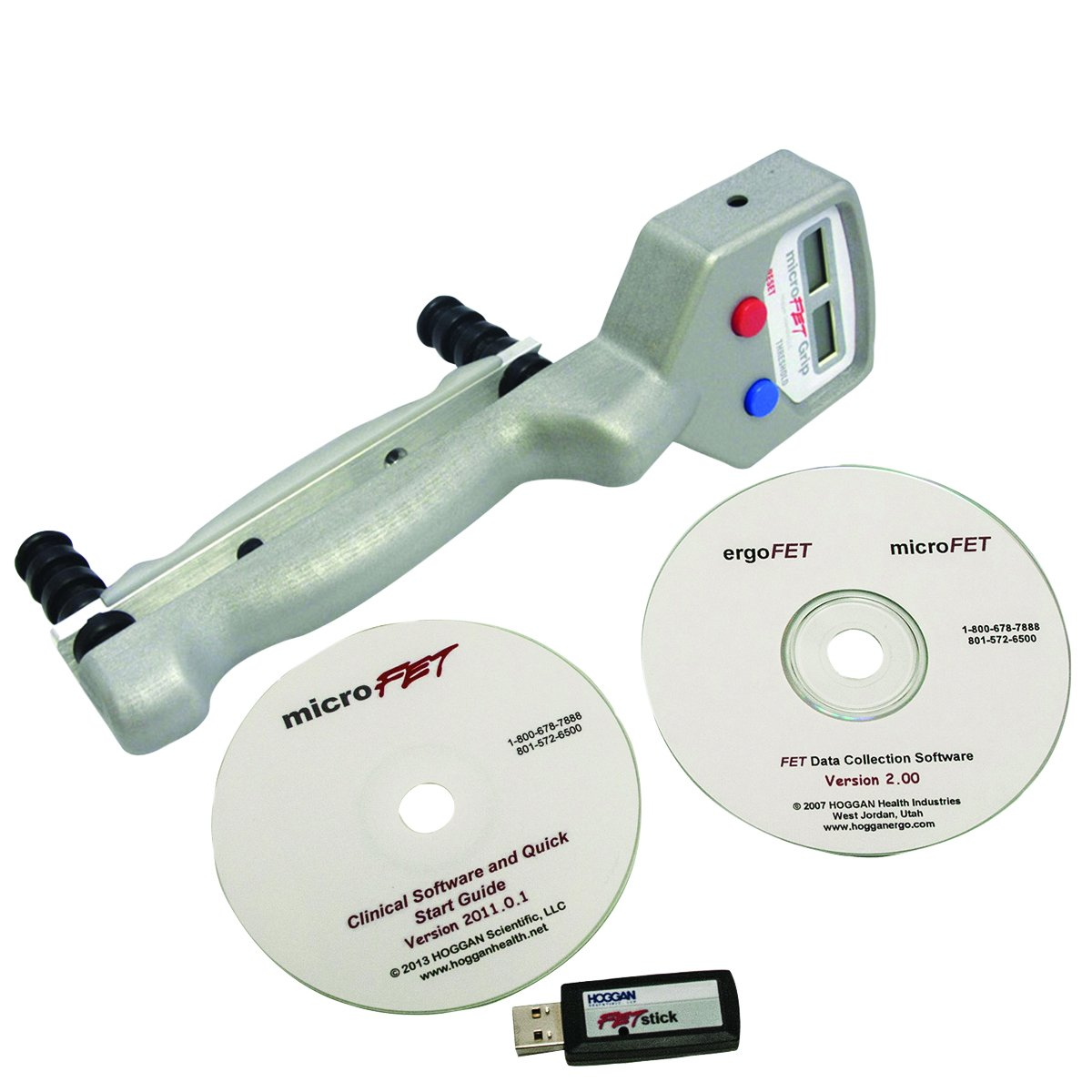 Image of Diagnostics & Screening MicroFET 12-0277WCD HandGRIP with Clinical and Data Collection Software