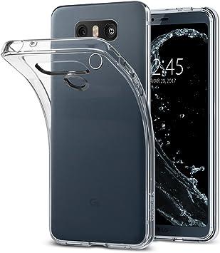 Spigen Funda LG G6, [Liquid Crystal] Silicona Transparente ...