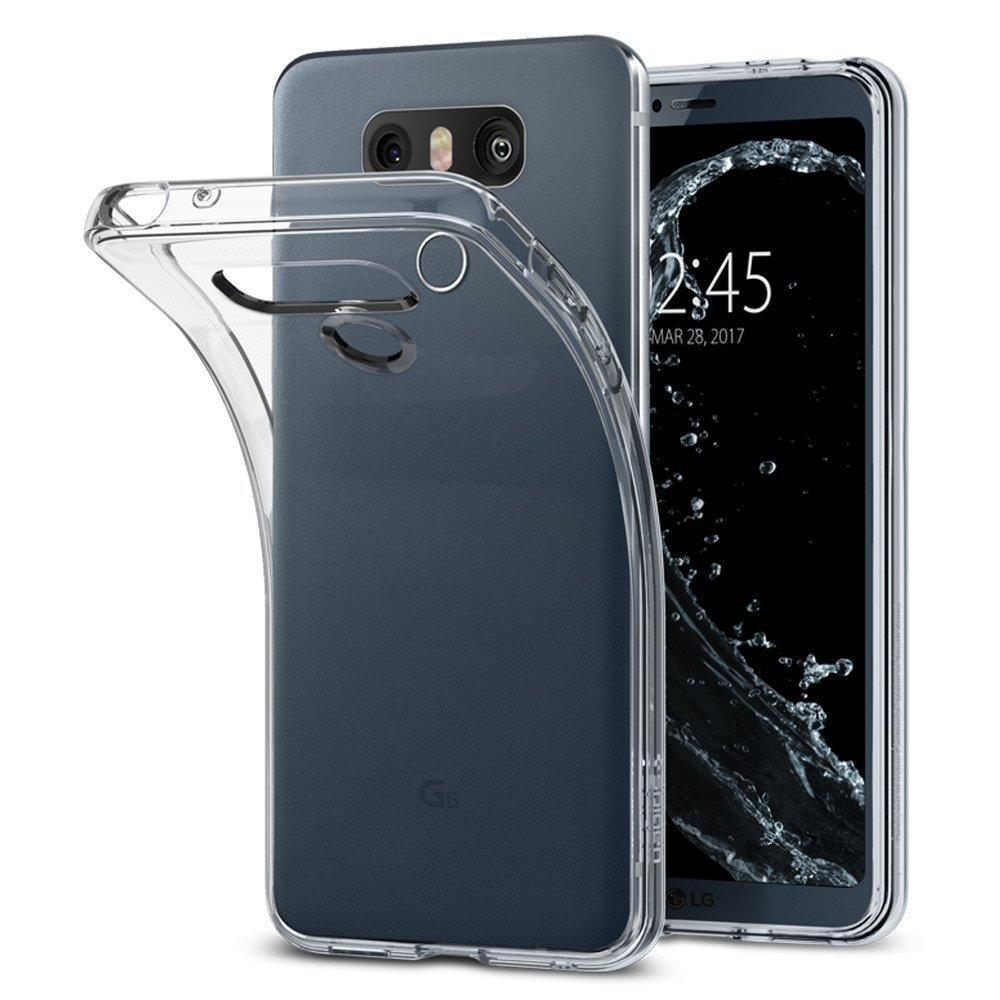 Funda Spigen Lg G6/g6 Plus [crystal Clear] Liquid Crystal