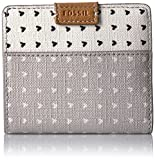Fossil Emma Rfid Mini Wallet-grey/white Wallet