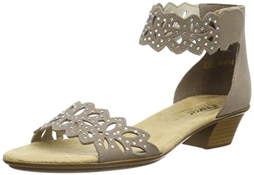 Rieker 68396 Women Sandals, Summer Shoes, Summer Sandal