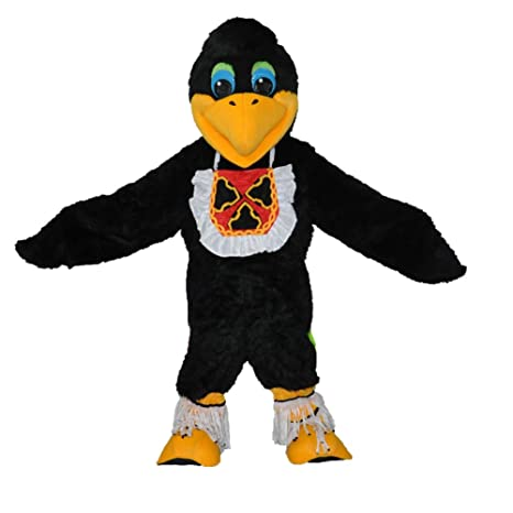 Plush Pájaro Mascota Disfraz, MascotShows mascota cartón adulto ...