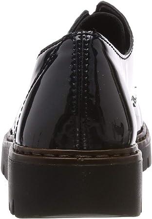Rieker M5806, Zapatos de Cordones Derby para Mujer