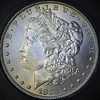 1883 O Morgan Silver One Dollar 1883-O MS-65 Variety Attributed Discovery Coin Vam 7Ab Obverse Die Gouges, 7Ab Reverse 4/8 Tail Feathers O/O Mint Mark Set Left & Tilted Left Rarity 8 $1 MS-65 Fiduciary Grading & Attribution